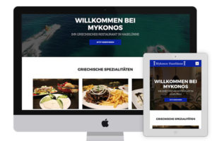 Website of Mykonos Haselünne