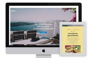 Website of Mykonos Hesepe