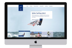 Webdesign - Sylter Surfcup