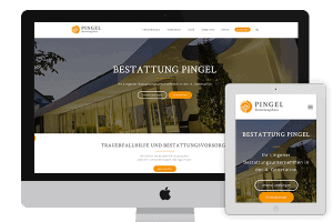 New funeral website Pingel