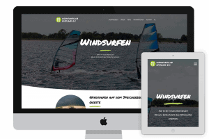 Webseite des Windsurfclub Emsland e.V.
