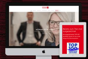 Webdesign Hörgeräte Vehr