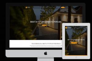 Bestattungshaus Pingel Redesign