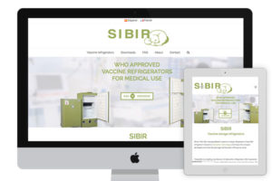 Webpage of Sibir