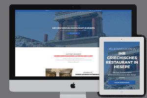 Kreta Hesepe webdesign