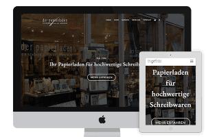 Der Papierladen Website